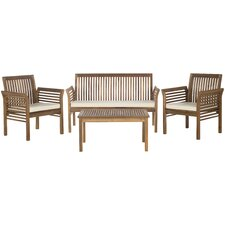 Carson 4 Piece Deep Seating Group with Cushions