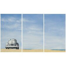 Dune Buggy 3 Piece Painting Print on Canvas Set