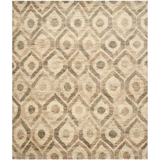 Bohemian Brown Contemporary Rug