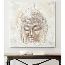 Tranquility Buddha Painting Print on Canvas