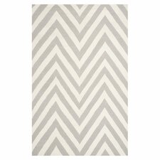 Dhurries Grey / Ivory Outdoor Rug