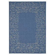 Courtyard Blue Outdoor Rug
