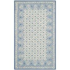 Wilton Ivory/Light Blue Rug
