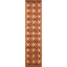 Tibetan Plum Rust Area Rug