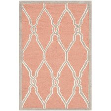 Cambridge Coral/Ivory Area Rug