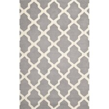Cambridge Silver  &  Light Blue Area Rug