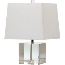 "Mckinley 19"" H Table Lamp with Square Shade"