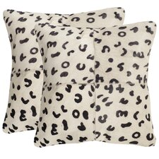 Beaucowhide Throw Pillow (Set of 2)