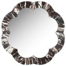 Fleuer Faux Tigers Eye Wall Mirror