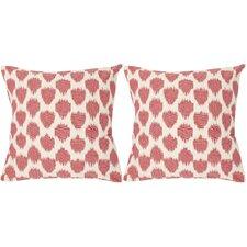 Sarra Cotton Decorative Throw Pillow (Set of 2)
