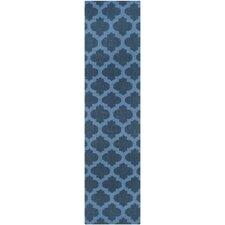 Dhurries Blue Area Rug