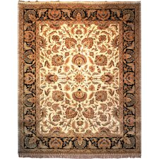 Dynasty Beige/Black Rug