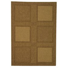 Courtyard Large Boxes Outdoor Rug