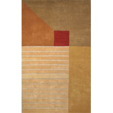 Rodeo Drive Trio Beige/Gold Area Rug