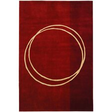 <strong>Safavieh</strong> Rodeo Drive Red Circle of Life Rug