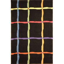 Rodeo Drive Black Area Rug
