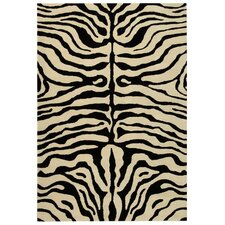 Soho Black/Ivory Area Rug