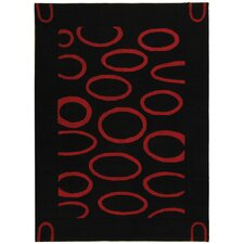 <strong>Safavieh</strong> Soho Black/Red Rug