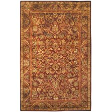 <strong>Safavieh</strong> Antiquities Majesty Wine/Gold Rug