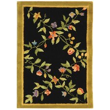 <strong>Safavieh</strong> Berkeley Black/Gold Rug