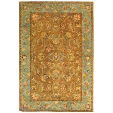 <strong>Safavieh</strong> Bergama Brown/Blue Rug