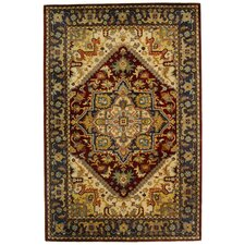 Classic Assorted/Red Rug
