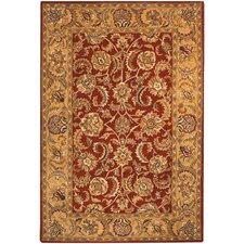 <strong>Safavieh</strong> Classic Red/Gold Rug