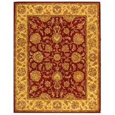 <strong>Safavieh</strong> Heritage Red/Gold Rug
