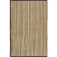 Natural Fiber Multi/Purple Rug