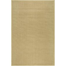Natural Fiber Maize/Wheat Rug