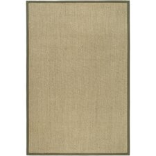 <strong>Safavieh</strong> Natural Fiber Natural/Green Rug