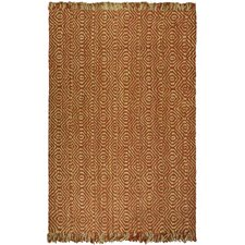 <strong>Safavieh</strong> Natural Fiber Rust Rug