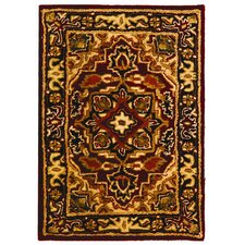 <strong>Safavieh</strong> Classic Heriz Red/Navy Rug