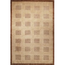 Tibetan Brownstone Khaki/Java Rug
