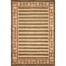 Tibetan Birgad Sage/Plum Rug