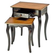 <strong>Safavieh</strong> Jasper 2 Piece Nesting Tables