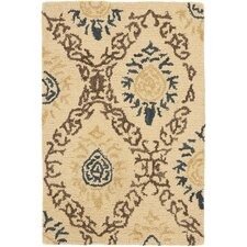 Antiquities Light Gold/Multi Rug