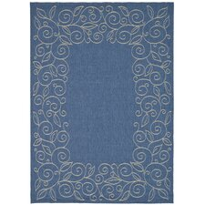 Courtyard Blue Rug