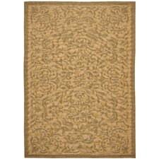 <strong>Safavieh</strong> Courtyard Light Natural Rug