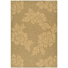 <strong>Safavieh</strong> Courtyard Gold/Natural Rug