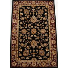 Heritage Black/Red Rug