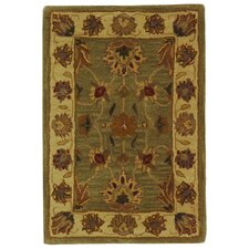 Heritage Green/Gold Area Rug