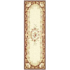 Chelsea Ivory/Red Empire Rug