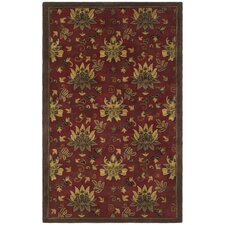 Jardin Red Rug