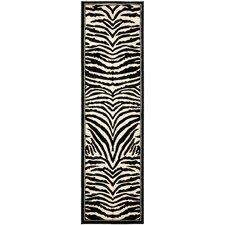 Lyndhurst White/Black Rug