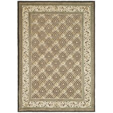 Paradise Ivory/Dark Brown Rug