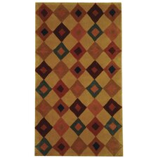 Rodeo Drive Light Brown Area Rug