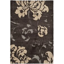Florida Shag Dark Brown Rug