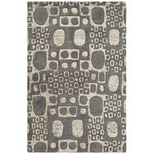 Soho Dark Gray/Ivory Area Rug
