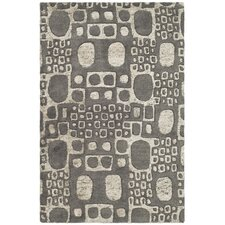 <strong>Safavieh</strong> Soho Dark Gray/Ivory Rug